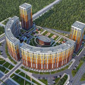 Дизайн жилого комплекса Ultra City (Ультра Сити)